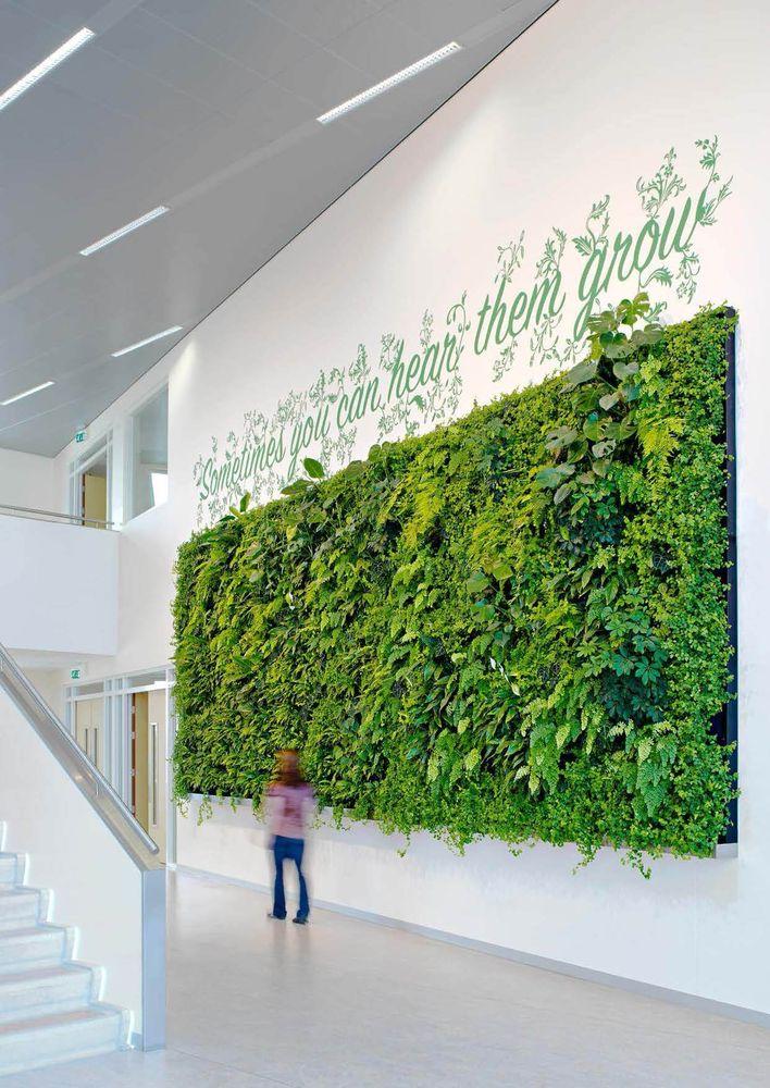 Vertikale Begrünung vertikale begrünung grüne wände